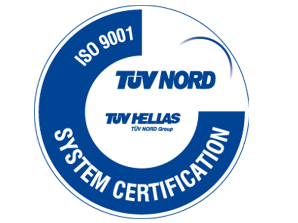 RENEWAL OF ISO CERTIFICATE: 9001