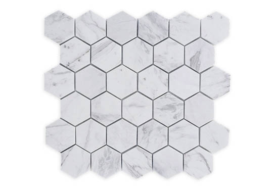 Mosaic Volakas Hexagon